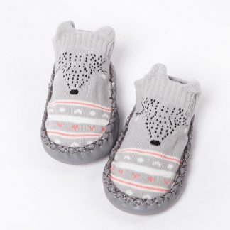 Baby Non Slip Knit Slippers