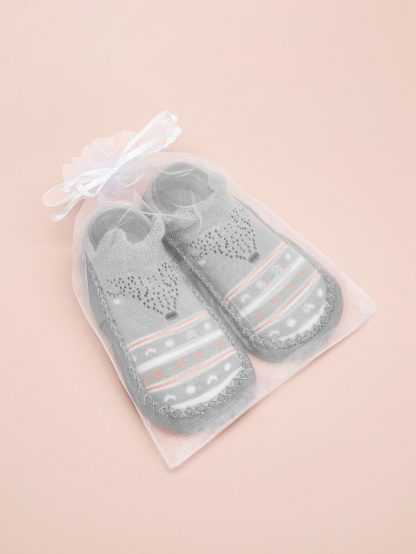 Baby Non Slip Knit Slippers