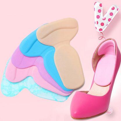 Rear heel wear protection cushion