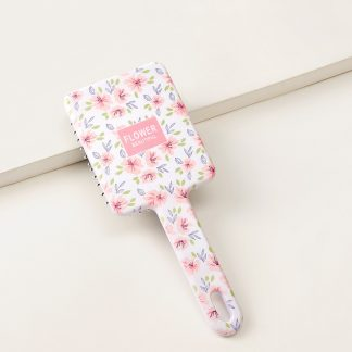 Floral Pattern Hair Comb